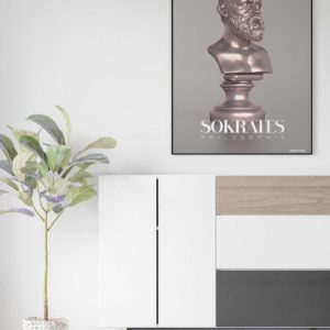 Sokrates – Philosophie – A2 Poster